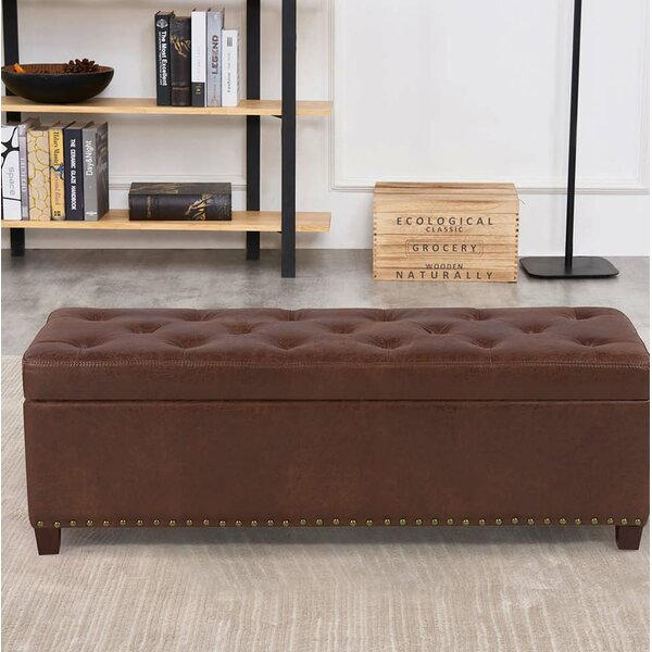 Ketterman Storage Ottoman by Alcott Hill