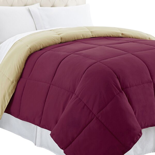 Single Reversible Comforter by Alwyn Home