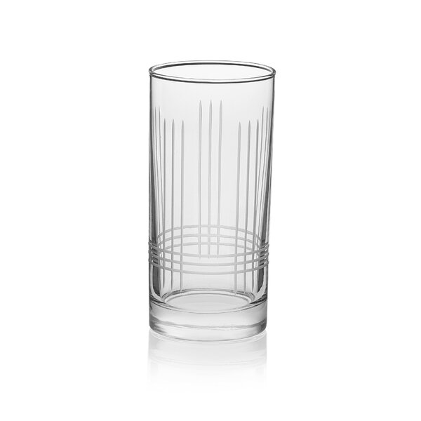 Scribe 15 oz. Glass Every Day Glasses (Set of 8) by Libbey