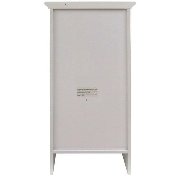 Vanhook 13.375 W x 27.625 H x 11.75 D Free-Standing Bathroom Cabinet