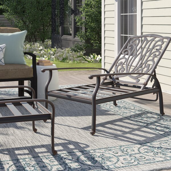 Lebanon Deep Seating Patio Chair by Three Posts
