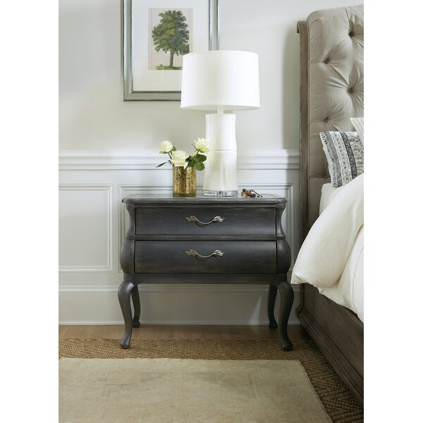 Woodlands 2 Drawer Nightstand by Hooker Furniture