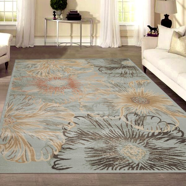 Garda Blue/Beige Area Rug by Wildon Home ®