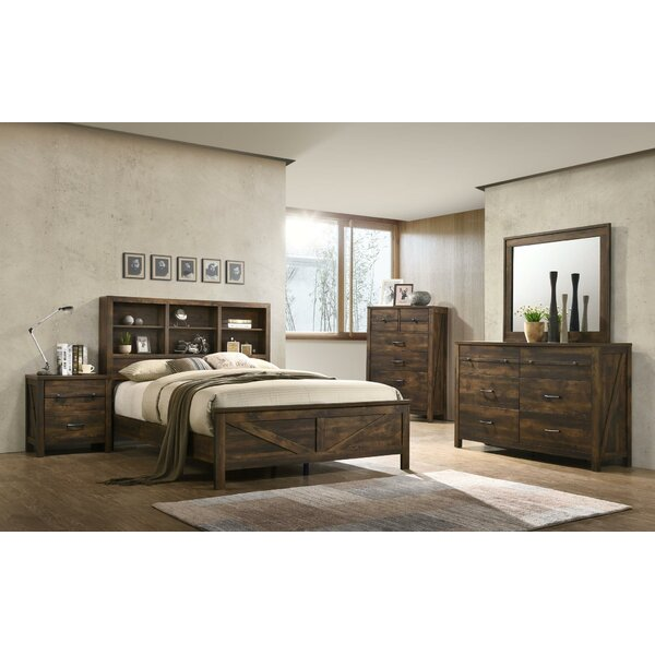 Bickerstaff Full Standard 5 Piece Bedroom Set by Gracie Oaks