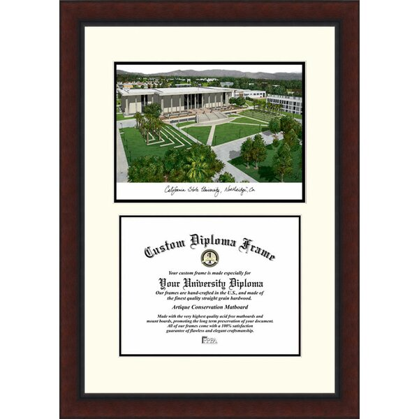 NCAA California State University, Northridge Legacy Scholar Diploma Picture Frame by Campus Images