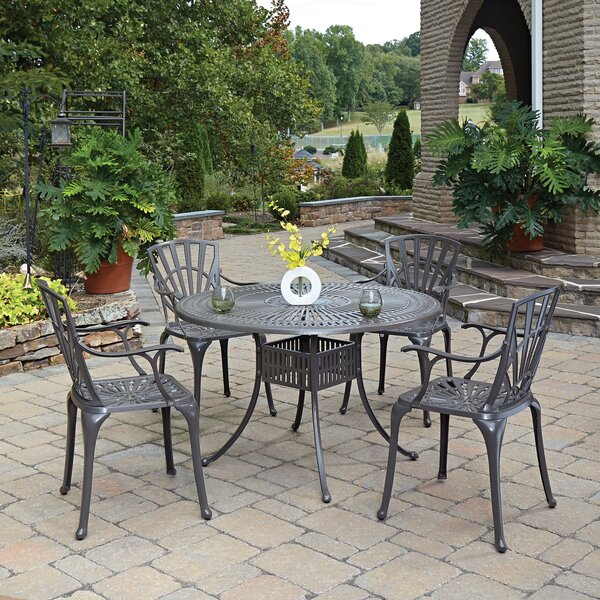 Frontenac 7 Piece Dining Set with Cushions 5 Piece Dining Set by Astoria Grand