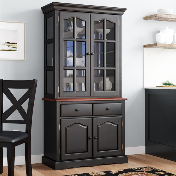 Chavez Lighted China Cabinet by Charlton Home
