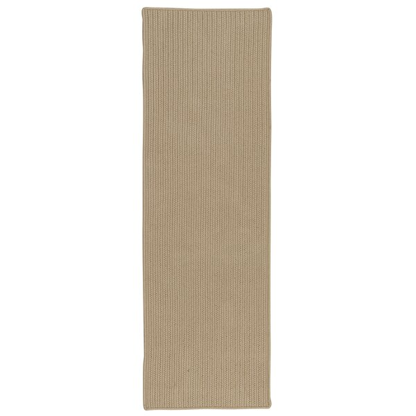 Cheyanne All-Purpose Mudroom Hand-Braided Natural Area Rug by Charlton Home