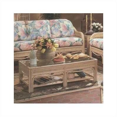 Coffee Table With Storage By South Sea Rattan