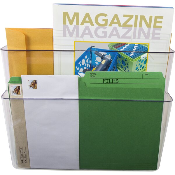 Letter Wall File (Set of 12) by Storex