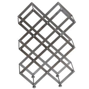 Elmhurst 9 Bottle Floor/Wall Mounted Wine Rack by Trent Austin Design