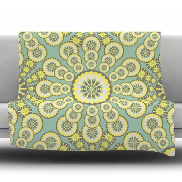 Equinox Throw Blanket by KESS InHouse