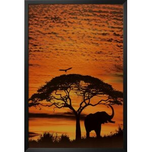 'African Skies' Framed Photographic Print by Buy Art For Less