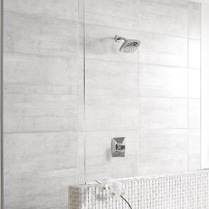 Via Shower Faucet Lever Handle with Posi-Temp by Moen