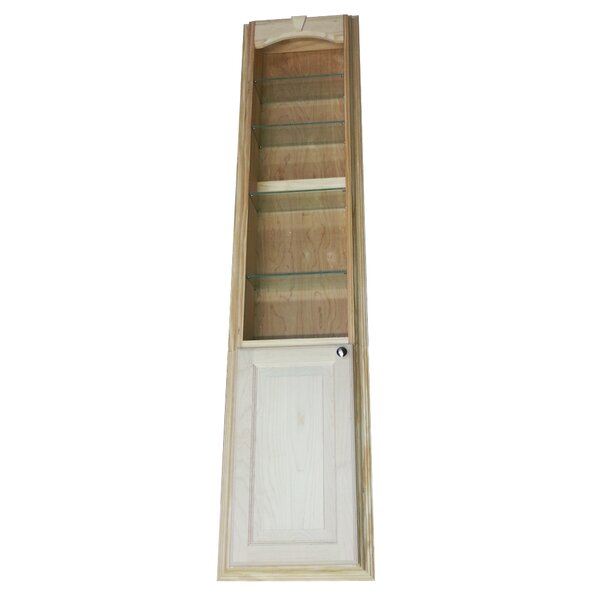 In The Wall Recessed Standard Bookcase by WG Wood Products