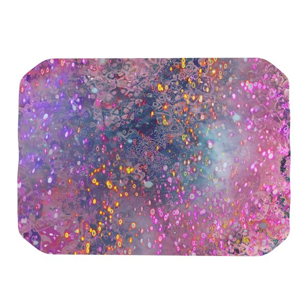 Pink Universe Placemat by KESS InHouse