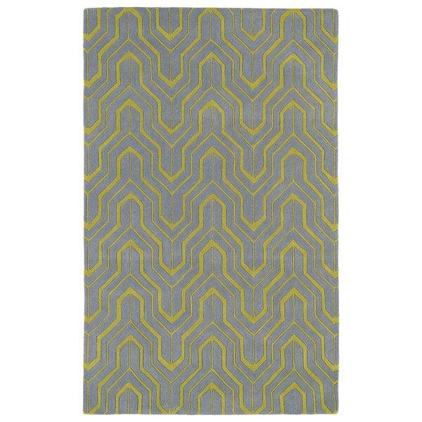 Edinburg Grey/Yellow Area Rug by George Oliver