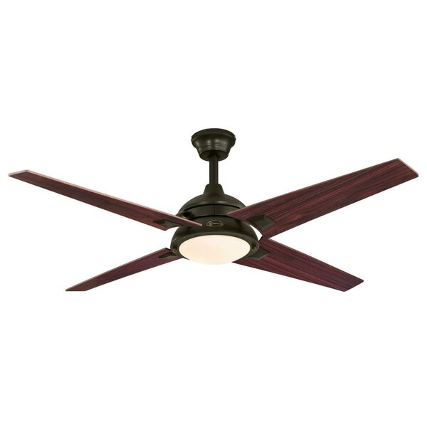 52 Lovetts 4 Blade Ceiling Fan by Wade Logan