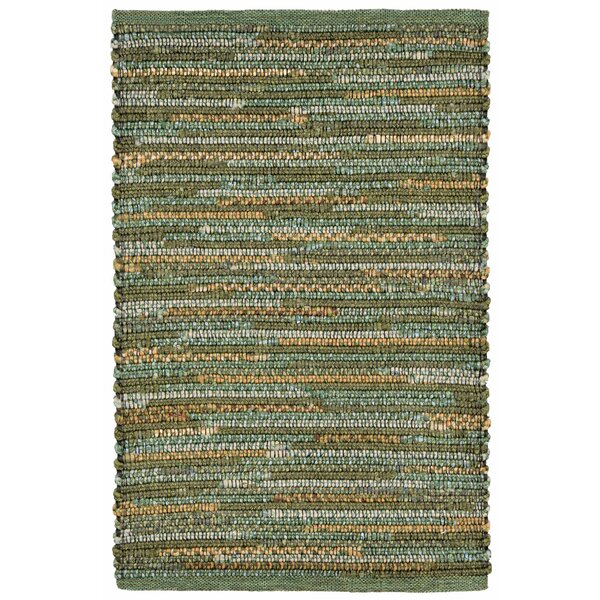Sardis Hand-Woven Green Indoor/Outdoor Area Rug by August Grove