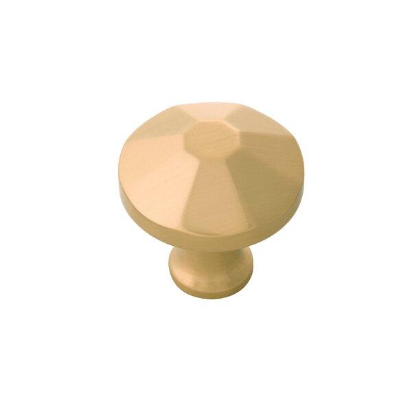 Facette Mushroom Knob by Belwith Keeler