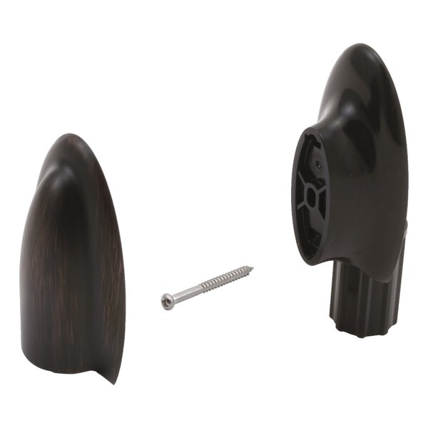 Wall Bar End Piece and Mounting Hardware by Delta