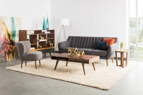 Salon de style moderne et contemporain