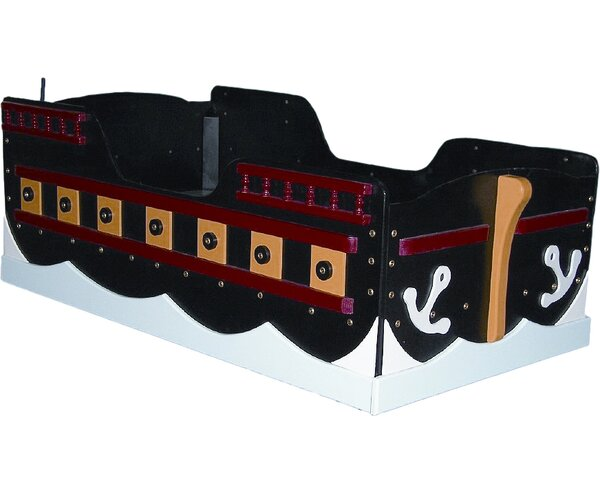 Pirate Ship Toddler Bed by Just Kids Stuff