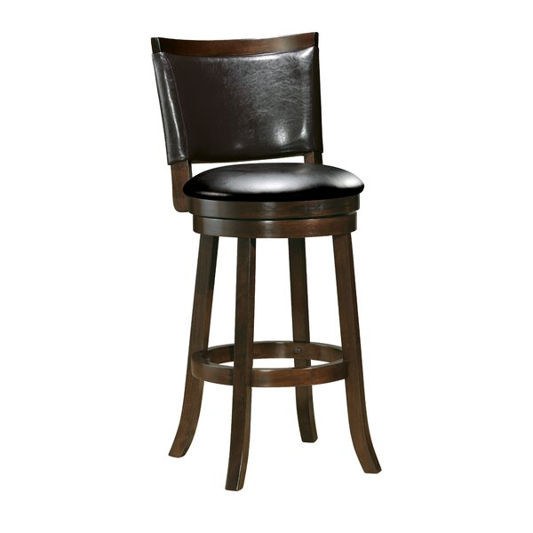 Eastham 43 Swivel Bar Stool by Winston Porter