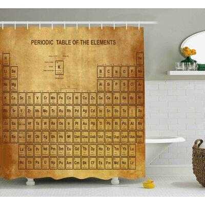 Periodic element shower curtain curtain bulgarmark periodic table shower curtain bed bath beyond urtaz Choice Image