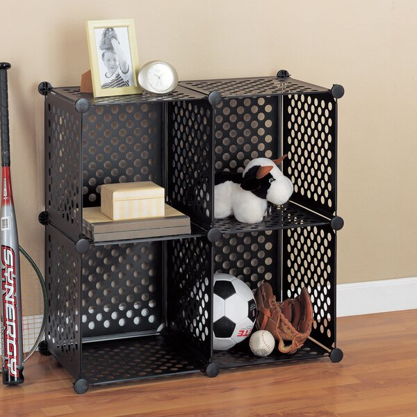 Organize It All Perforated Cube 30.25 Shelving Unit (Set of 4) by Organize It All