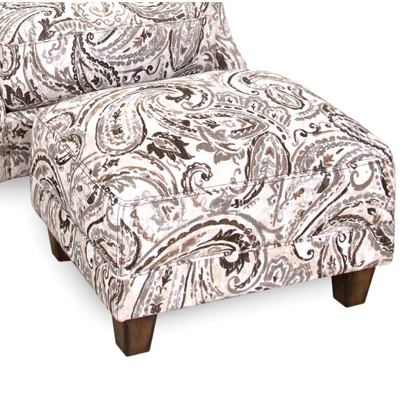 Kelloch Ottoman by Darby Home Co