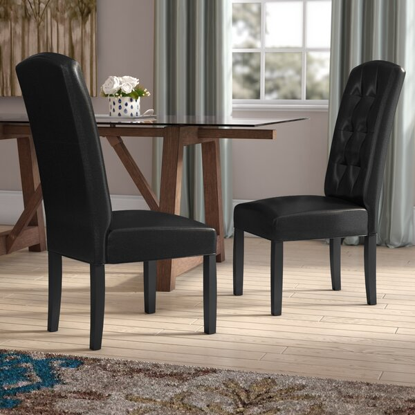 Burson Upholstered Dining Chair (Set of 2) by Red Barrel Studio