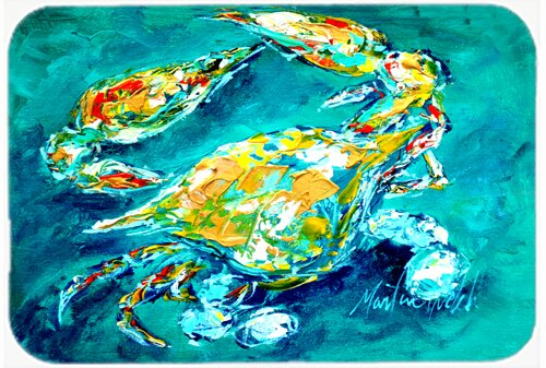 By Chance Crab Rectangle Non-Slip Bath Rug