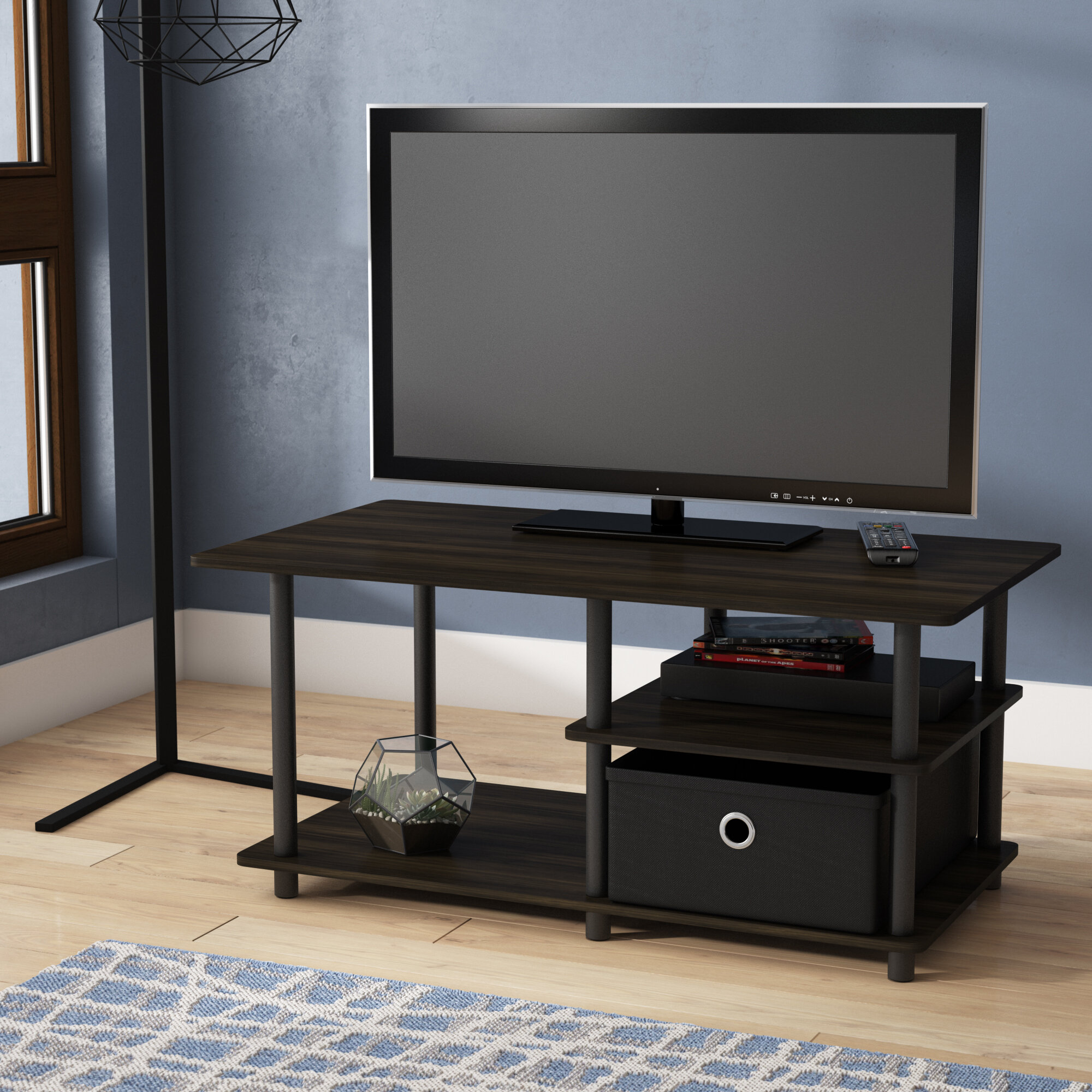 Ebern Designs Ankney Tv Stand For Tvs Up To 40 Reviews Wayfair