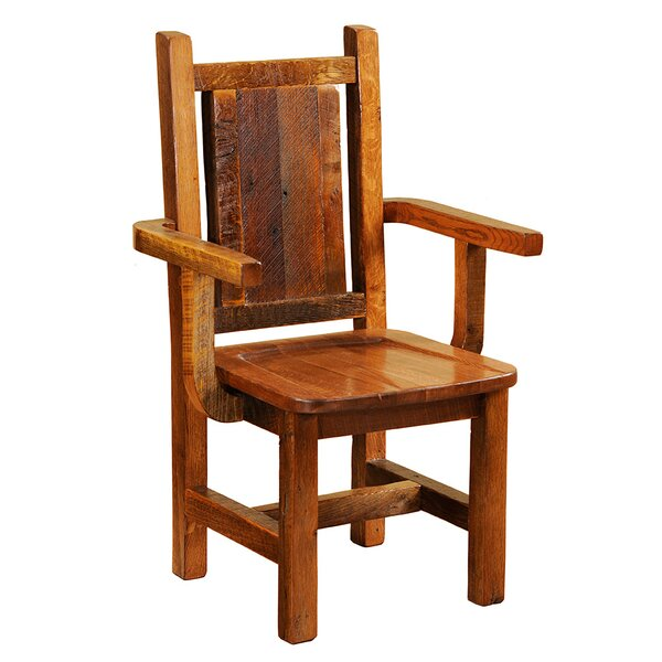 Solid Wood Dining Chair by Fireside Lodge