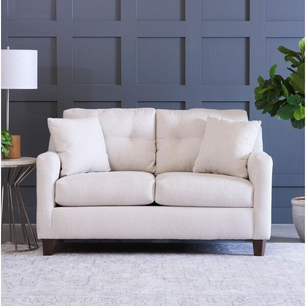 Aimee Loveseat by Wayfair Custom Upholstery™