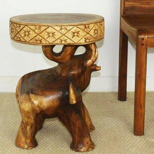 Daub Elephant Chang End Table