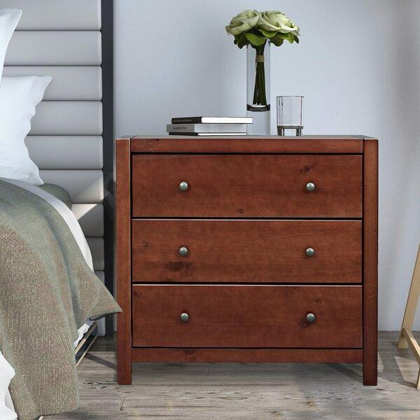 Amesfield 3 Drawer Dresser By Wrought Studio
