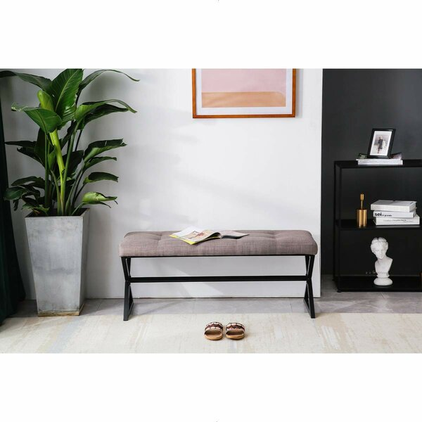Tequesta Upholstered Bench By Latitude Run