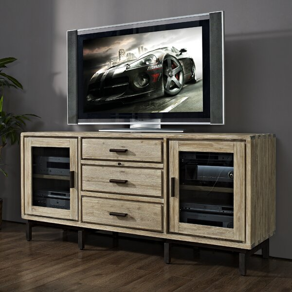 Grigori Solid Wood TV Stand For TVs Up To 75
