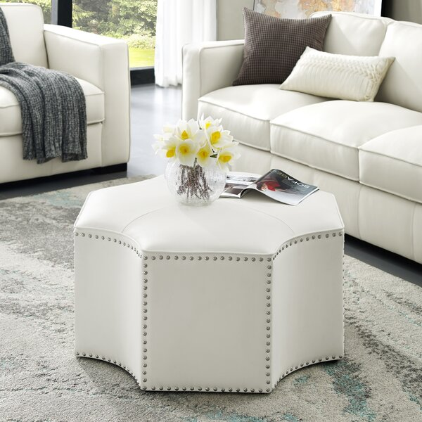 Graysen Upholstered Cocktail Ottoman By Nicole Miller