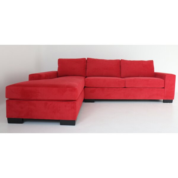 Stamp Left Hand Facing Sectional by Ivy Bronx