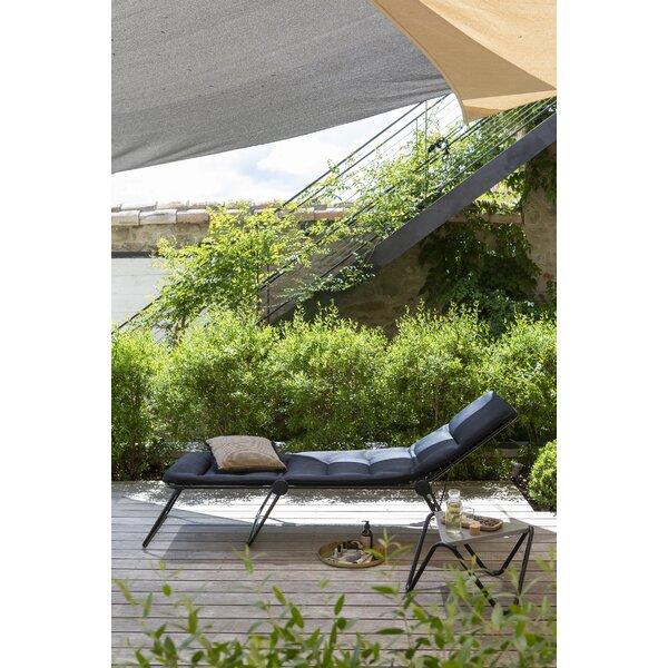 Elva Siesta Reclining Chaise Lounge with Cushion