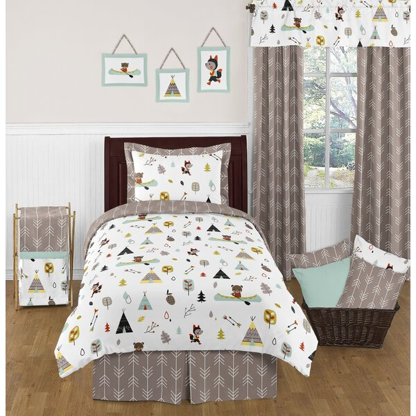 Outdoor Adventure 4 Piece Comforter Set by Sweet Jojo Designs