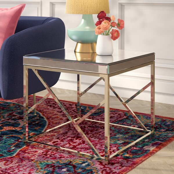 Flori End Table by Willa Arlo Interiors
