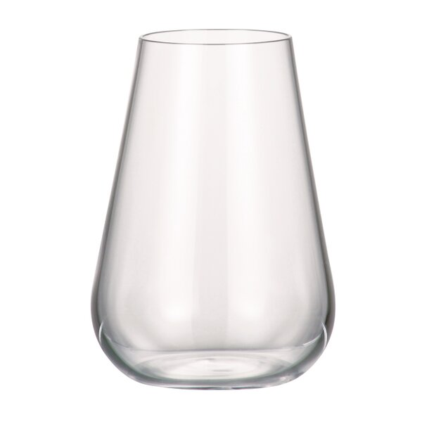 Amy 10.82 oz. Every Day Glass (Set of 6) by Red Vanilla