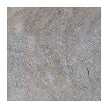 Philadelphia 12 x 12 Travertine Field Tile in Dark Gray by Seven Seas