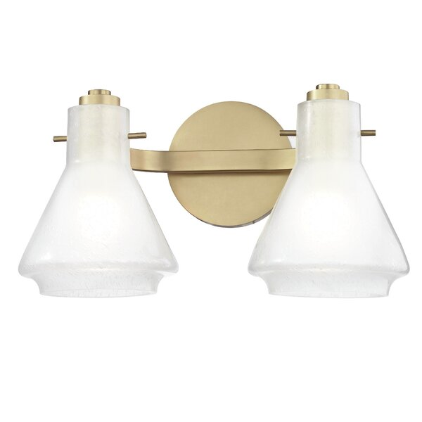 Scottie 2-Light Vanity Light by Corrigan Studio