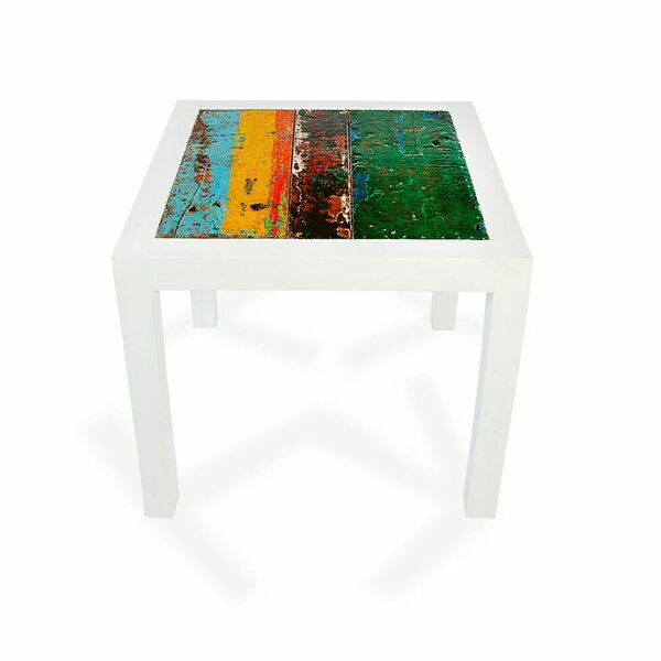 Little Berth Folding Teak Side Table by EcoChic Lifestyles
