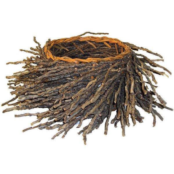 Twig Pot Planter by Craftware